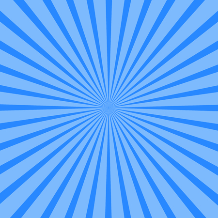 Background of blue rays. Vector illustration for your design Illustration