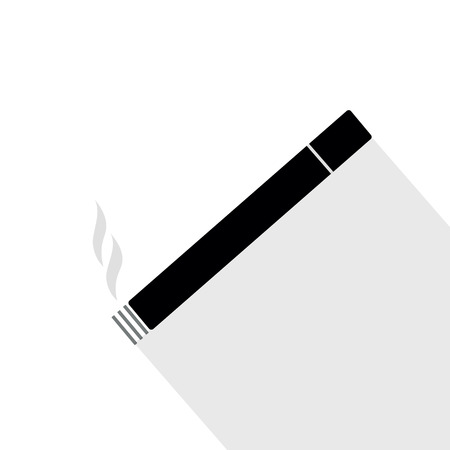 Cigarette icon vector, solid logo illustration Stock Photo