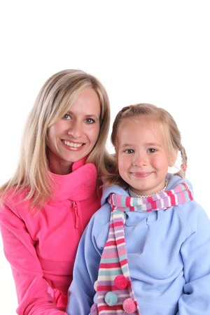 Happiness mother and daughter Stock Photo - 9238128