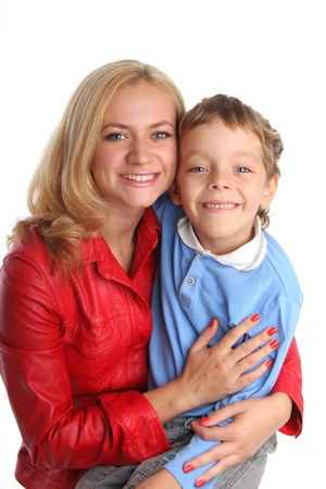Happiness mother and son Stock Photo - 9238129