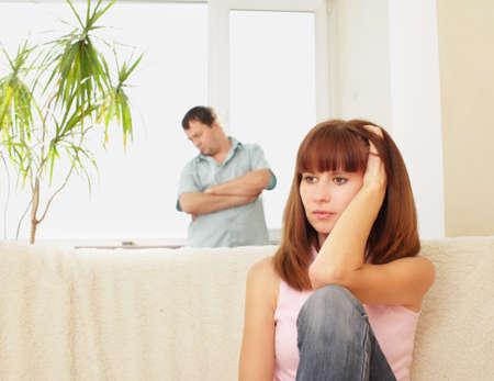 veszekedés: Quarrel between man and woman