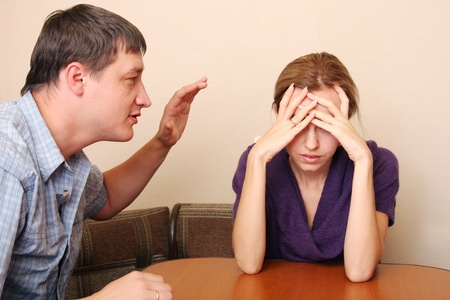 Conflict in family 7 Stock Photo - 9397954
