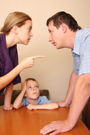 Conflict in a family 3 photo