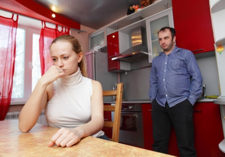 Conflict between man and woman Stock Photo - 10291700