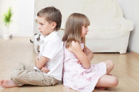 Conflicto entre el hermano y la hermana