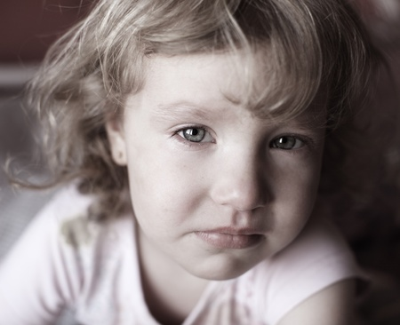 Portrait of a beautiful little girl Stock Photo - 9626168