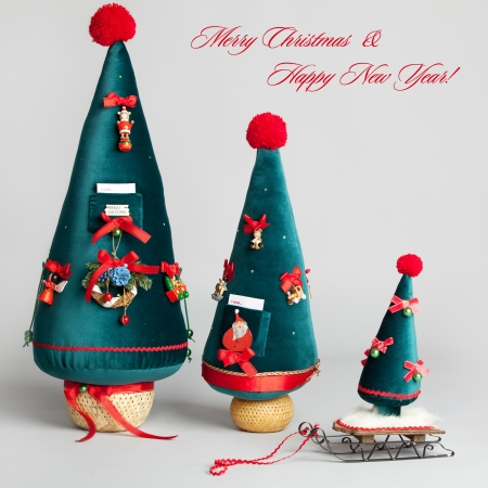 Christmas tree. Christmas Card Stock Photo - 15530119