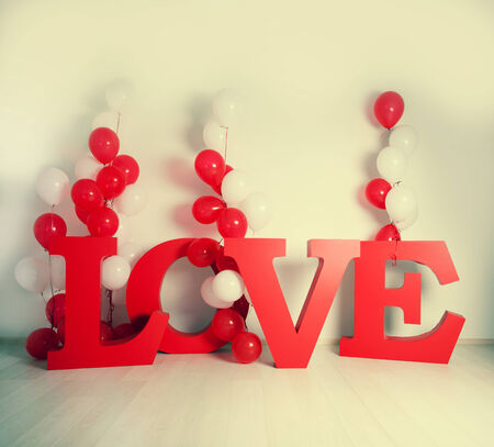 Valentines day, weddings and other celebrations. Decoration background photo