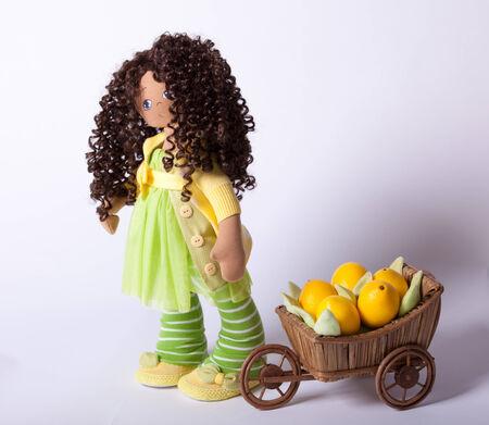 Doll. Handmade Stock Photo - 27299010