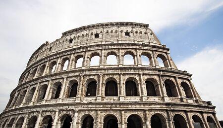 famous place: Coliseum. Famous place at Italy. Rome