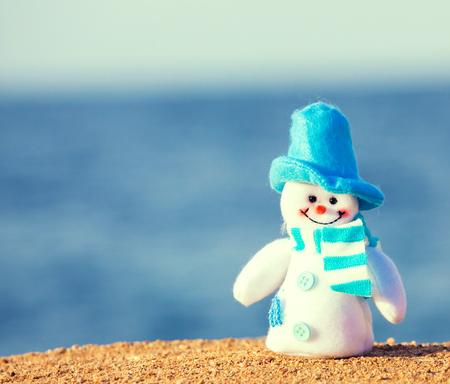 Beach Snowman Stock Photos & Pictures. Royalty Free Beach Snowman ...
