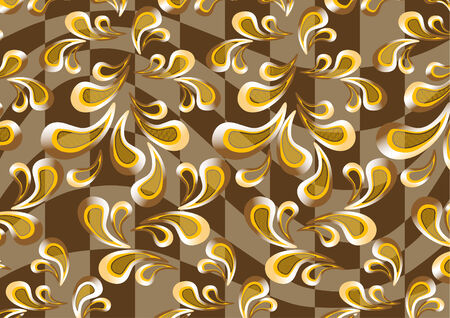 Background paisley.Wallpaper.Background. Vector
