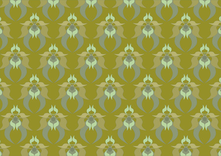 Muddy- green background. Background. Wallpaper  Stock Vector - 8292255