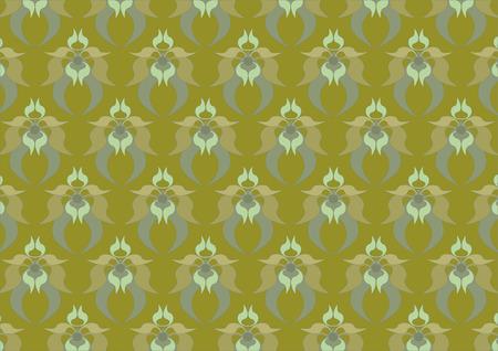 tessellated:  Muddy- green background. Background. Wallpaper  Illustration