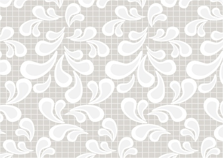 Paisley pattern on a light beige background.Wallpaper. Stock Vector - 10335807