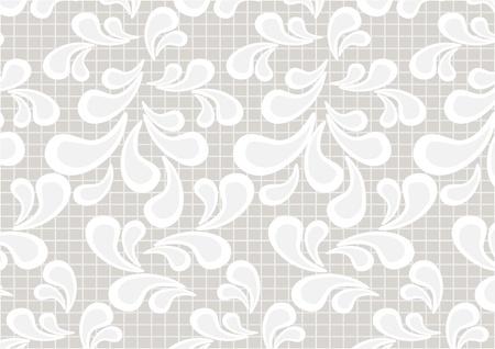 Paisley pattern on a light beige background.Wallpaper.