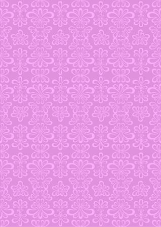 Light purple nightshade in pastel purple background.Wallpaper.Background. Vector