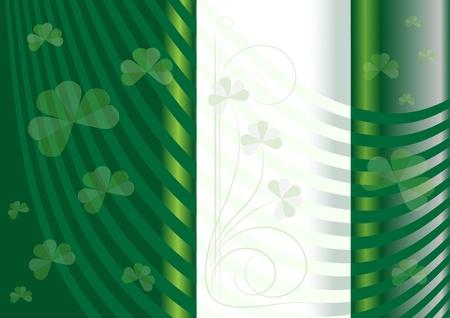 Background options for postcards Saint Patrick.Postcard Stock Vector - 12493801