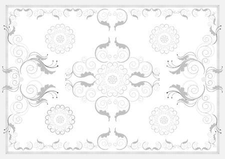 Decorative antique oriental pattern  Graphic arts Vector