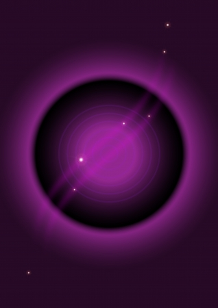 Purple background for banner with  circle Stock Vector - 14355229