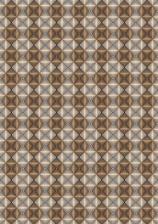 illusory: Fondo visual ilusoria de los rayos con tonos marrones