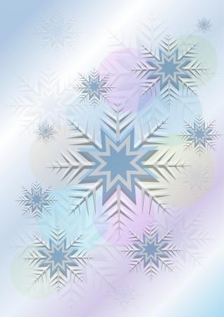 flickering: El parpadeo de fondo con copos de nieve y un c�rculo