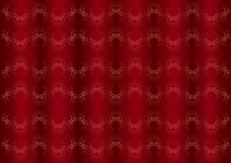 whirling: Gentle pink iridescent pattern on the wavy red burgundy background