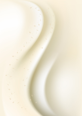 convex: Light colored gradient mesh with white convex wave