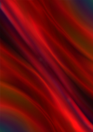 satiny: Abstract background of bright radiant satiny red gradient