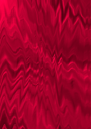 Original abstract background with red hues zigzag convex pattern