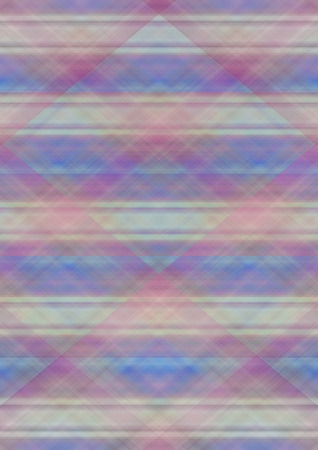 matte: The checkered a matte background with pastel shades collected from the the intersecting colored stripes Stock Photo