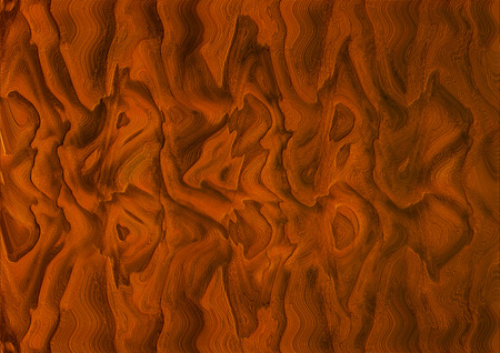 concave: Abstract background from concave relief zigzag forms terracotta color