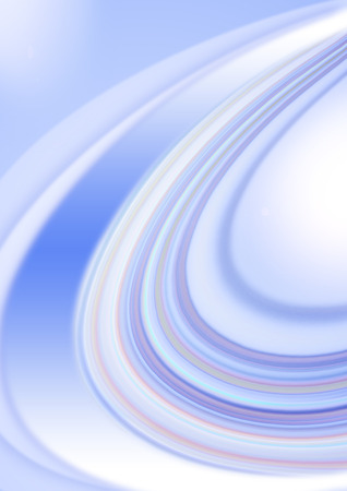 semicircular: Bluish background with transparent curved by semicircular strips of blue shades Stock Photo