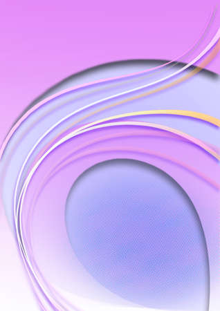 arched: Purple background  with halftone coated arched forms lilac color,curved stripes and stars
