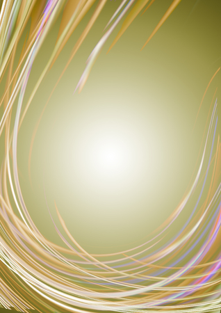 khakis: Glowing khakis background covered  twisted lines