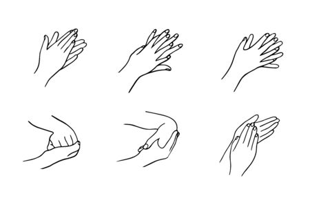 How to clean your hands properly. Rules for Disinfection and hand washing.
