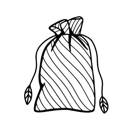 Fertilizers for plants vector illustration in Doodle style. Vector illustration Ilustración de vector