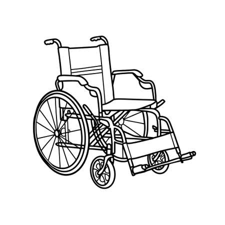 Wheelchair for people with disabilities