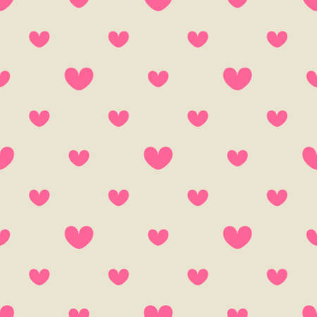 Pink hearts seamless pattern design for Valentines Day, invitation cards, wrapping, textiles, wedding decorations