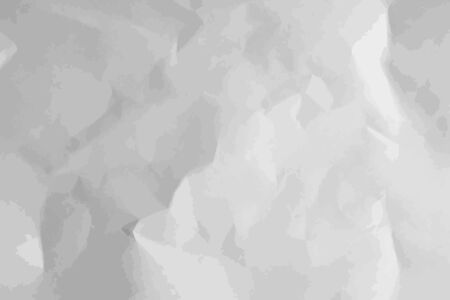 Crumpled paper texture. Abstract background. Vector illustration. Illustration