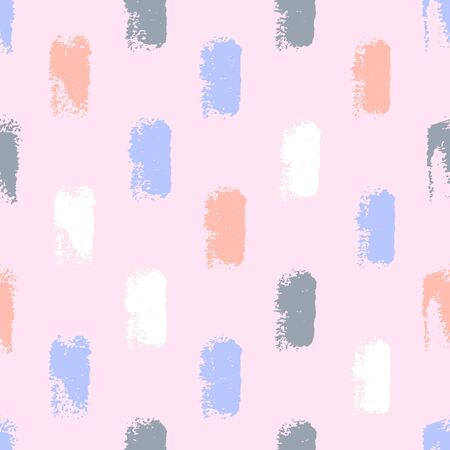 Seamless pattern with paint spots on mauve background.  イラスト・ベクター素材