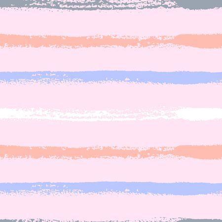 Seamless pattern with colored stripes on mauve background.
