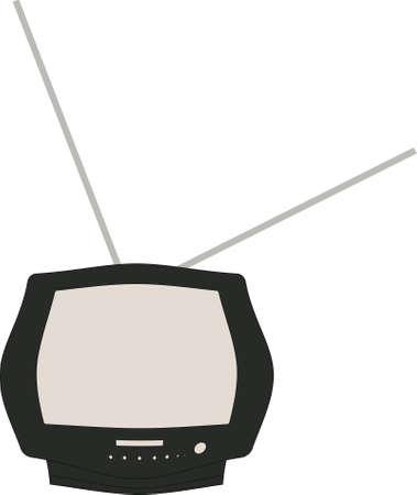 TV of black color