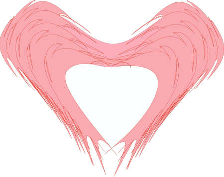 abstract background heart Illustration