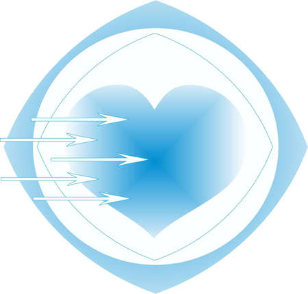 Ice heart Stock Vector - 13780585