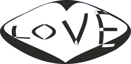 Love, symbol Vector