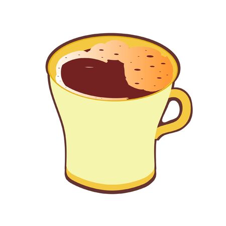 cup of coffee,  vector