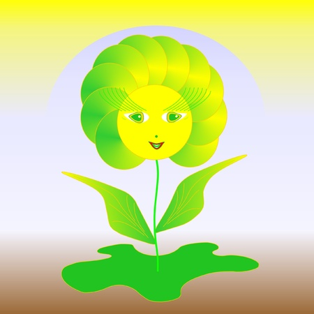 solar floret