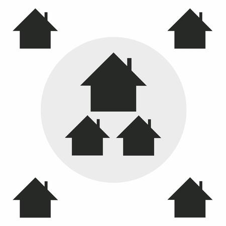 Settlement silhouette