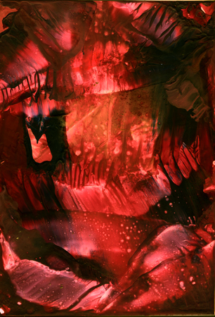 Abstract water color encaustic red and black tones background Dark cave, Texture, Deep,Wallpaper. Reklamní fotografie